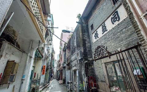 元朗舊墟 滿清一條街