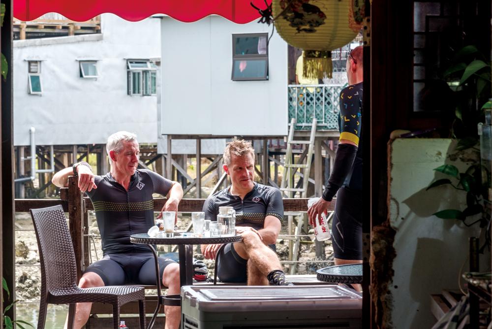 蘇廬位於河涌岸邊,經常吸引不少遊客到來,既欣賞大澳景緻外,更可享受香濃咖啡。