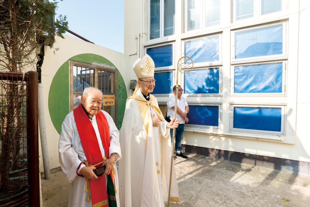 2018年的花地瑪聖母出遊由湯漢榮休樞機主禮。