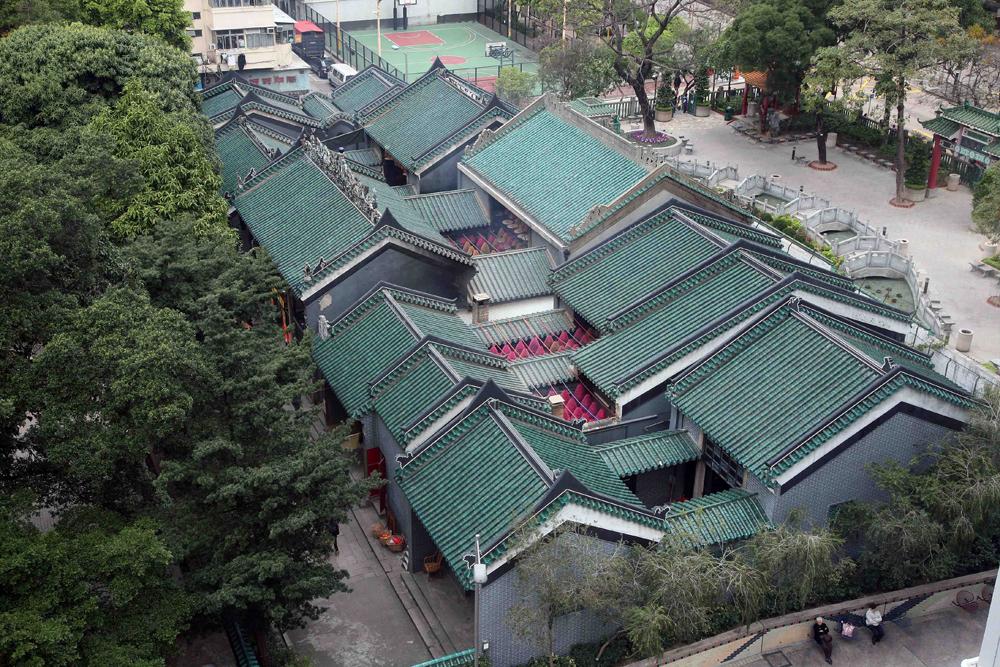 油麻地天后古廟及其鄰接建築物