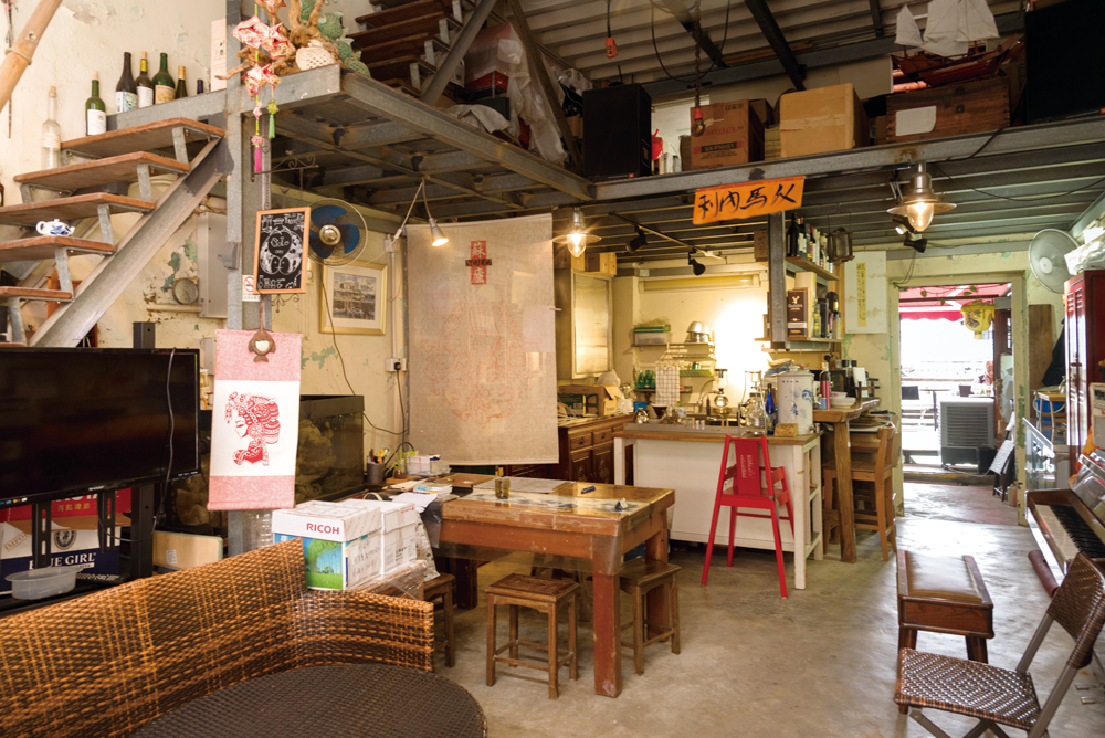 店舖裝潢是店主的悉心布置,處處突顯品味和悠閒格調。